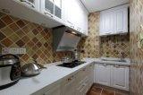 Neue moderne Küche-Schrank-Möbel Yb-1706020 des festen Holz-2017