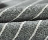100%Cotton het eenvoudige Vastgestelde Blad van het Beddegoed van de Stijl (T47)