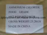 Cloruro de amonio de alta calidad de la categoría alimenticia 99.6%Min de los superventas