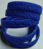 Wristband su ordinazione del silicone di marchio del braccialetto degli accessori di modo del braccialetto di sport