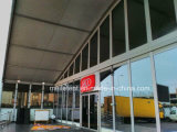 1000の人のイベントの玄関ひさしのためのアルミニウムフレームアークのガラステント
