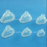Dispositivo de respiração do silicone LSR/peças médicos