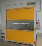 Оптовая продажа подгоняла дверь PVC высокой надежности автоматическую секционную сделанную в Китае