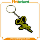 PVC macio Keychain do logotipo do projeto do cliente