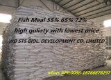 Farine de poisson de protéine de 72% pour la fabrication de la Chine d'alimentation des animaux