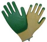 Перчатки Coated безопасности нитрила работая