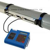 De draagbare Ultrasone Meter van de Stroom voor Diesel, Water, Vloeistof, enz.