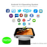 Gran pantalla táctil 3G reloj inteligente Android (DM98)