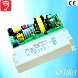 30-46W 0-10V 세륨 QS1204를 가진 Dimmable에 의하여 고립되는 위원회 빛 LED 전력 공급