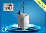 Bester beweglicher Schalter Nd YAG der Hochenergie-Laser-Tätowierung-Ausbau-Maschinen-Q Laser