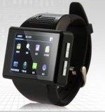 Neues intelligentes intelligentes Uhr-Telefon Mtk6515 der Uhr-an1 verdoppeln KernAndroid 4.1 Bluetooth GPS WiFi Kompaß Playstore Skype Kamera 2.0 Wartungstafel-Handgelenk-Telefon