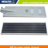 情報処理機能をもった動きセンサーが付いている統合された太陽LEDの街灯