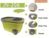 New Arrival Big Wheel Walkable Joyclean 360 Spin Magic Easy Happy Mop avec roue