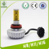 Nuovo faro automatico dell'automobile LED del modello 30W H8 3000lm