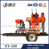 Remolque hidráulica 100m Montado Rig profundidad de perforación de pozo de agua