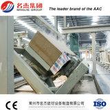 Linha de produção ambiental do bloco da planta AAC do bloco de AAC