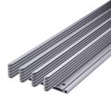 Perfil de alumínio extrudido personalizados com usinagem CNC (ISO9001:2008 certificados)