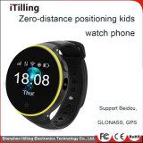 Smart Kids Tracking montretéléphone avec appareil photo /WiFi/GPS/fente pour carte SIM/Podomètre/Moniteur de fréquence cardiaque /logiciels personnalisés pour les enfants