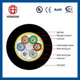 Câble fibre optique pour la gaine simple de faisceau aérien de l'installation ADSS 8