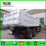 Transporte rodoviário de caminhão basculante de caminhão de 10 rodas
