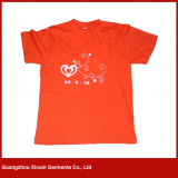 China Factory Cheap blank Advertizing T shirt with Own logo (R133)