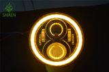 "Hoogste Kwaliteit om 12V 24V 7 "" LEIDENE Koplamp voor Motorfiets"