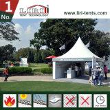 5x5m Pavilion Pequenas Pagoda Tenda Gazebo tenda jardim de Verão tenda como quiosque de entrada