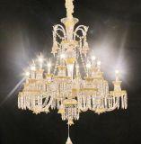 Luz de cristal do pendente do candelabro para Euprope