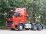 420HP Sinotruk HOWO A7 트랙터 헤드 6X4 트럭 트랙터