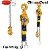 Alzamiento de cadena de la palanca y fabricantes manuales del alzamiento de la polea de cadena