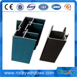 Profils en aluminium des graines en bois rocheuses pour Windows et des portes