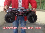 1: 10scale 4WD 2.4G Carro elétrico RC Brushless RC Monster Truck RC Buggy, controle remoto caminhão carro