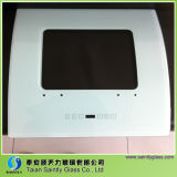 Glass Tempered com White Silk Printing para Range Hood