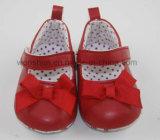 WithonリボンのBowknotの赤ん坊靴Ws1061