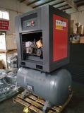 compressore d'aria della vite 7.5kw con il serbatoio