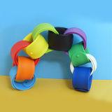 Wristband normale di vendita caldo della fascia di schiaffo del silicone
