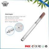 Cigarette électronique de Cig de Gla3 E vaporisateur sec d'herbe de vente en gros d'atomiseur 510 en verre
