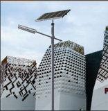 太陽LEDの街灯