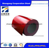De nieuwe Kleur verfte de Gegalvaniseerde Rol van het Staal Steel/PPGI voor Dakwerk vooraf