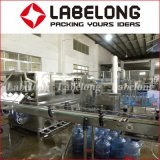 Ligne de production de remplissage de bouteille de 5 gallons d'eau minérale
