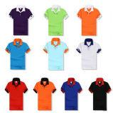 習慣さまざまなカラー、サイズ、デザイン、ロゴおよび材料の各種各様のポロのTシャツ