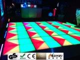 結婚式のダンス・フロアのディスコの効果のダンスライトのための1*1メートルDMX 512 RGB LEDのダンス・フロア