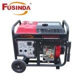 Diesel van Fusinda 5kw Draagbare Stille Reeks van de Generator 7500 met Motor Kipor
