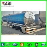 3 Aluminiumtanker der Wellen-42000liters für das Transportieren des Speiseöls