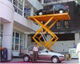 Plate-forme d'ascenseur de véhicule de ciseaux pour l'automobile