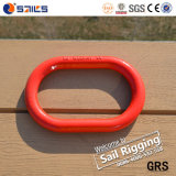 Красной краской Weldless легированная сталь Drop поддельных цепь Master кольцо