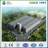 Disegno della costruzione del magazzino del gruppo di lavoro della struttura d'acciaio