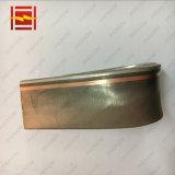 Revêtement Tubesheets bimétallique anti-corrosif en acier d'alliage cuivre-nickel C70600