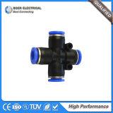 Connecteur rapide convenable en laiton électrique de tube pneumatique