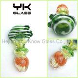 Nuevo tubo de la mano de vidrio de color cuencos de tubos de cuchara